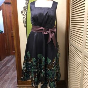 New eShatki Fit and Flare with Poppies 16